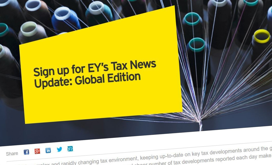 EY Tax News Update: Global Edition